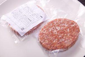 お肉屋さんの国産手作りハンバーグ150g