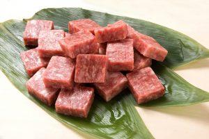 サーロインサイコロステーキ(牛脂注入加工品)