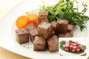 牛肉サイコロステーキ